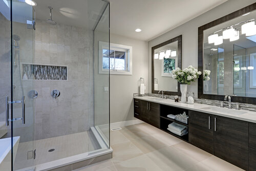 toronto shower install in new home